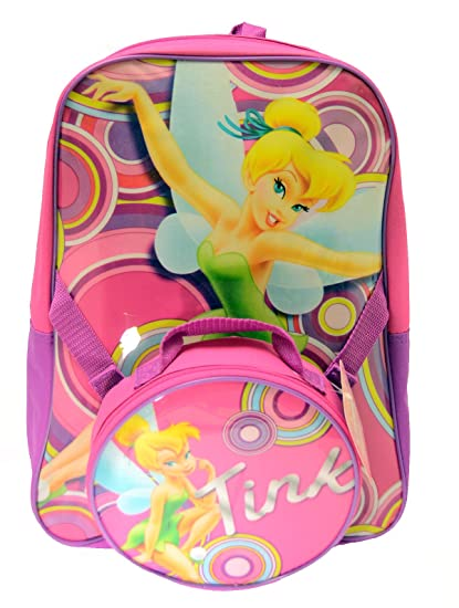 ee6d4f701c0 Image Unavailable. Image not available for. Color  Disney FAIRIES  Tinkerbell BACKPACK WITH LUNCH box