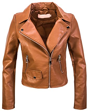 hot sale online 8f57d a0b10 Rock Creek Designer Damen Kunstleder Jacke Bikerjacke D-414