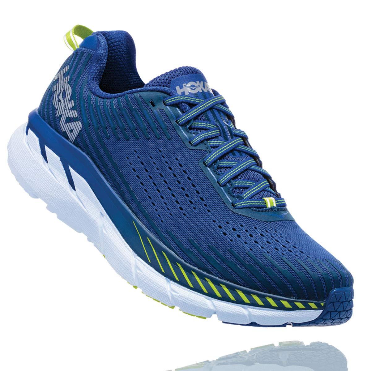 Bleu (Sodalitebleu Moodindigo Sbmi) HOKA Clifton 5, Chaussures de Running pour Homme 48 EU