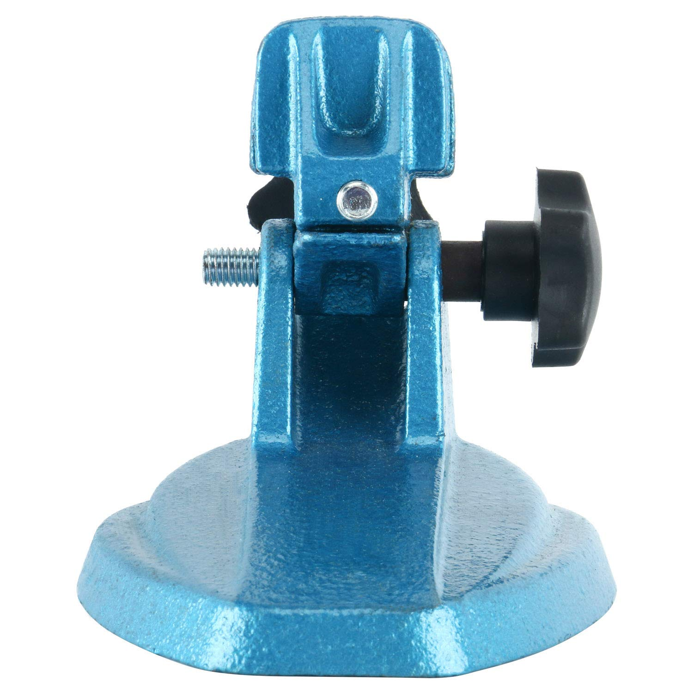 YaeTek Precision Micrometer Holder Stand Adjustable Cast Iron Base Inspection Fixture Machinist
