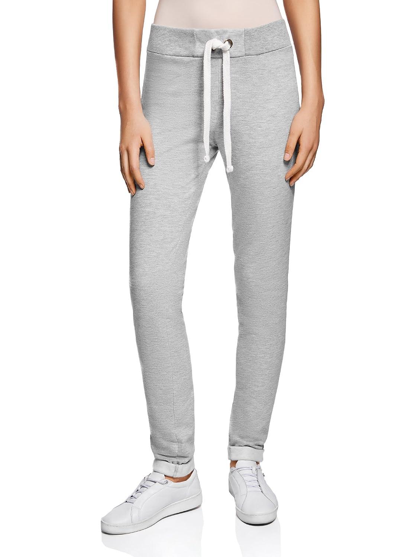 oodji Ultra Women's Jersey Active Pants with Decorative Drawstring RIFICZECH s.r.o. 16701010B