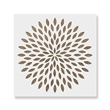 Bliss Mandala Stencil Durable /& Reusable Mylar Stencils