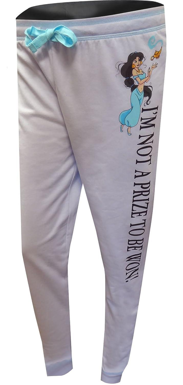 Disney Women's Princess Jasmine Not A Prize Plus Size Lounge Pants MJC WS18219PTX