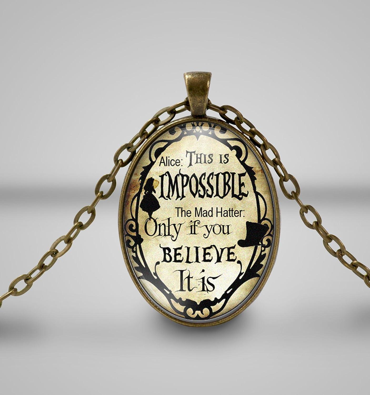Das ist unmöglich, Alice im Wunderland, Cameo Halskette ... Das ist unmöglich