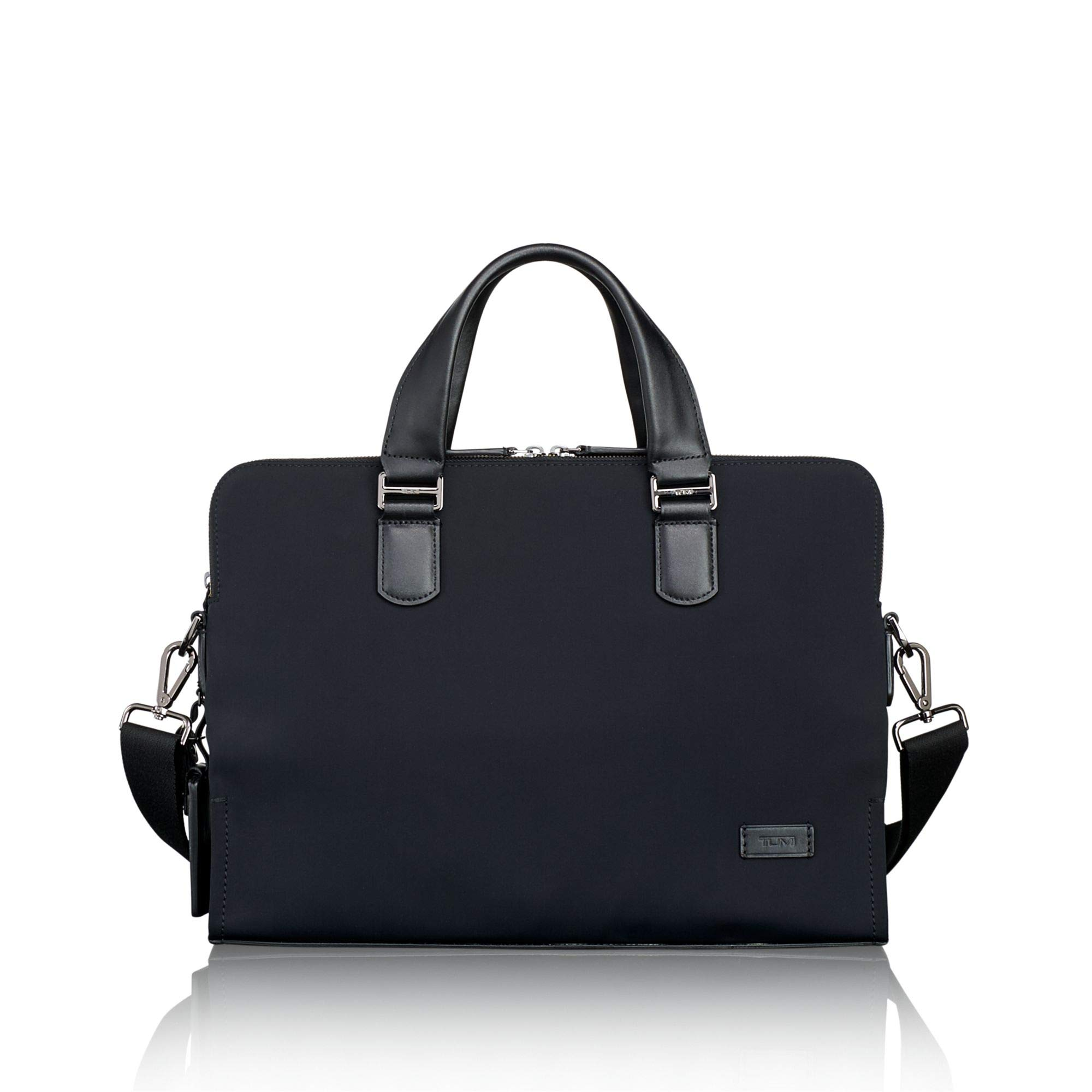TUMI - Harrison Seneca Laptop Slim Brief Briefcase - 15 Inch Computer Backpack for Men and Women - Black by TUMI