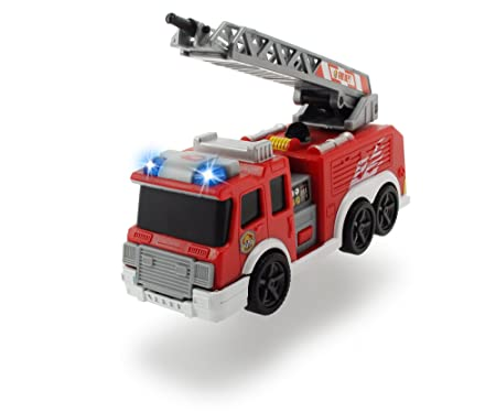 DICKIE TOYS Fire Truck Vehicle, Red
