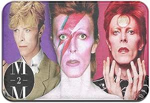 David Bowie - Alfombrillas decorativas antideslizantes para puerta de trampa de suelo, impermeables, alfombrillas de entrada, alfombrillas antideslizantes para baño, tamaño único