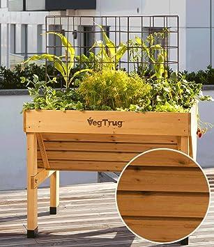 Vegtrug Hochbeet Holz 100 X 46 X 80 Cm 1 Stuck Amazon De Garten