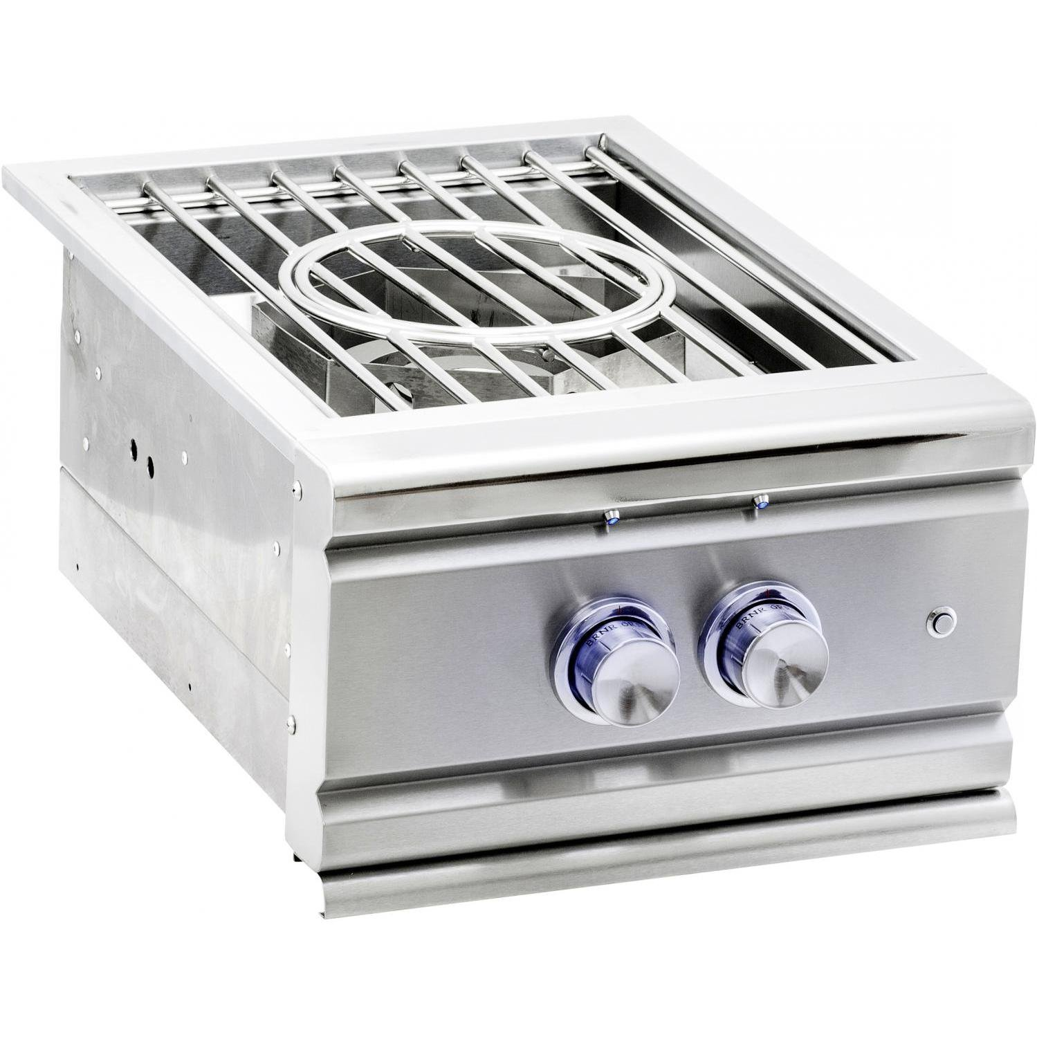 Summerset Trl Built-in Natural Gas Power Burner W/ Stainless Steel Lid - Sspb-1-ng