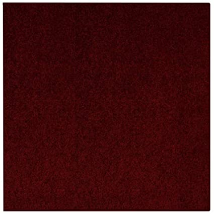 5eb30d94c17b8 Maple Home Area Rug Indoor, Living Room, Bedroom Polyester - 4' Square  Burgundy
