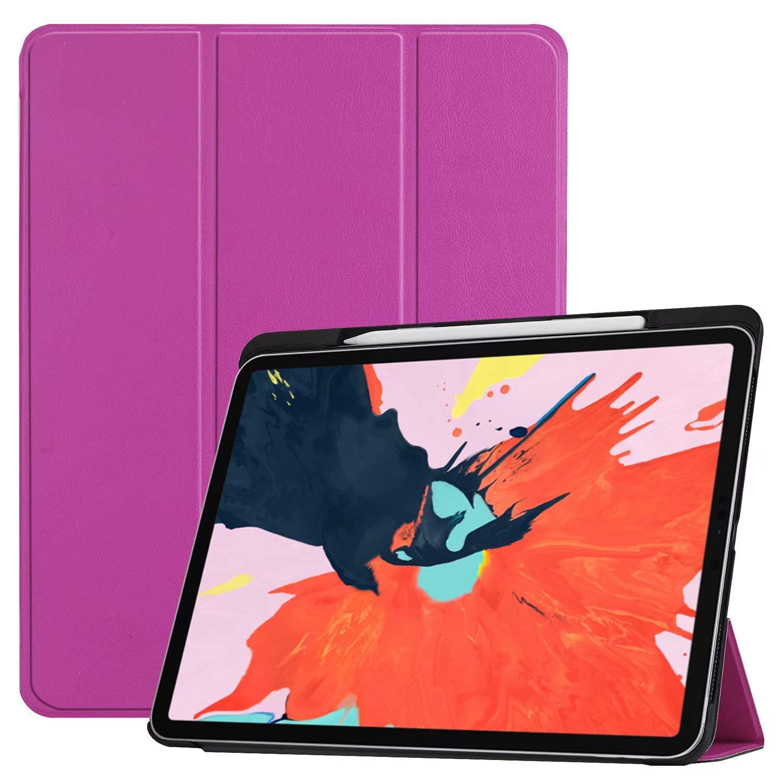 超人気 Coopts iPad Coopts Pro 11インチ 2018年 鉛筆ホルダー付き Purple スリム軽量シェル [充電/ペアを磁気で接続可能] Coopts スタンドカバー 強力な磁気吸着 自動ウェイク/スリープ機能 iPad Pro 11インチ用 Coopts -0908 01# Purple B07L4X38P9, ニシメラソン:37b1789d --- a0267596.xsph.ru