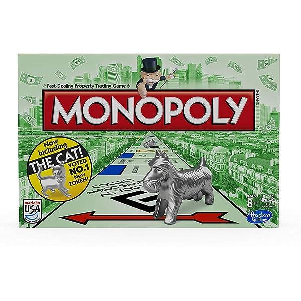 Monopoly - Juguete de modelismo ferroviario, de 2 a 6 Jugadores (Winning Moves 21197) (versión en inglés): Amazon.es: Juguetes y juegos