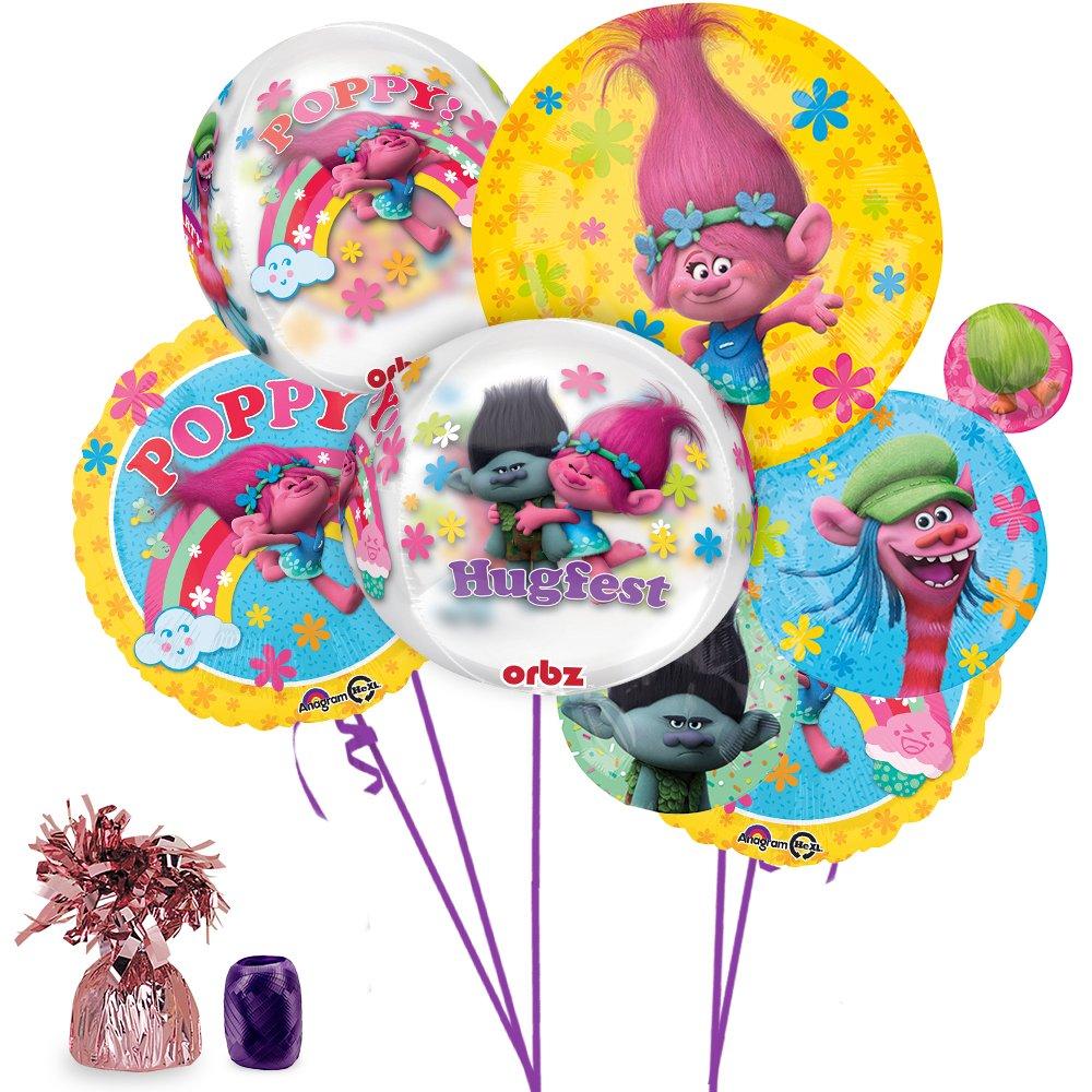 Amazon Trolls Ultimate Balloon Bouquet Kit By Costume