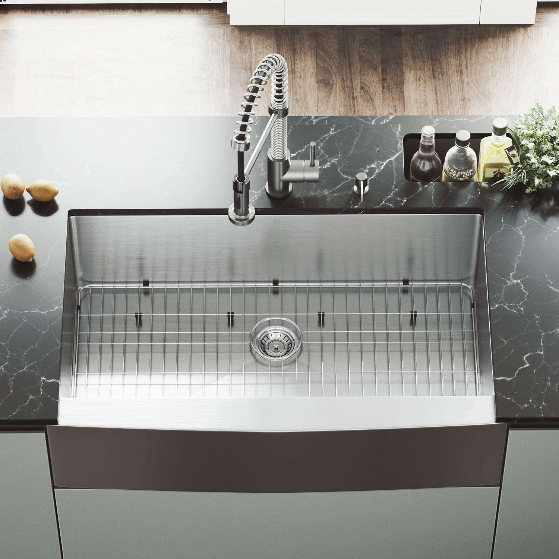 36 Inch Kitchen Sink White Farmhouse – ligatura.co