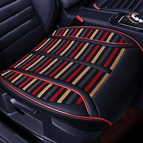Amazon.com: Cojín para asiento de coche de piel sintética de ...