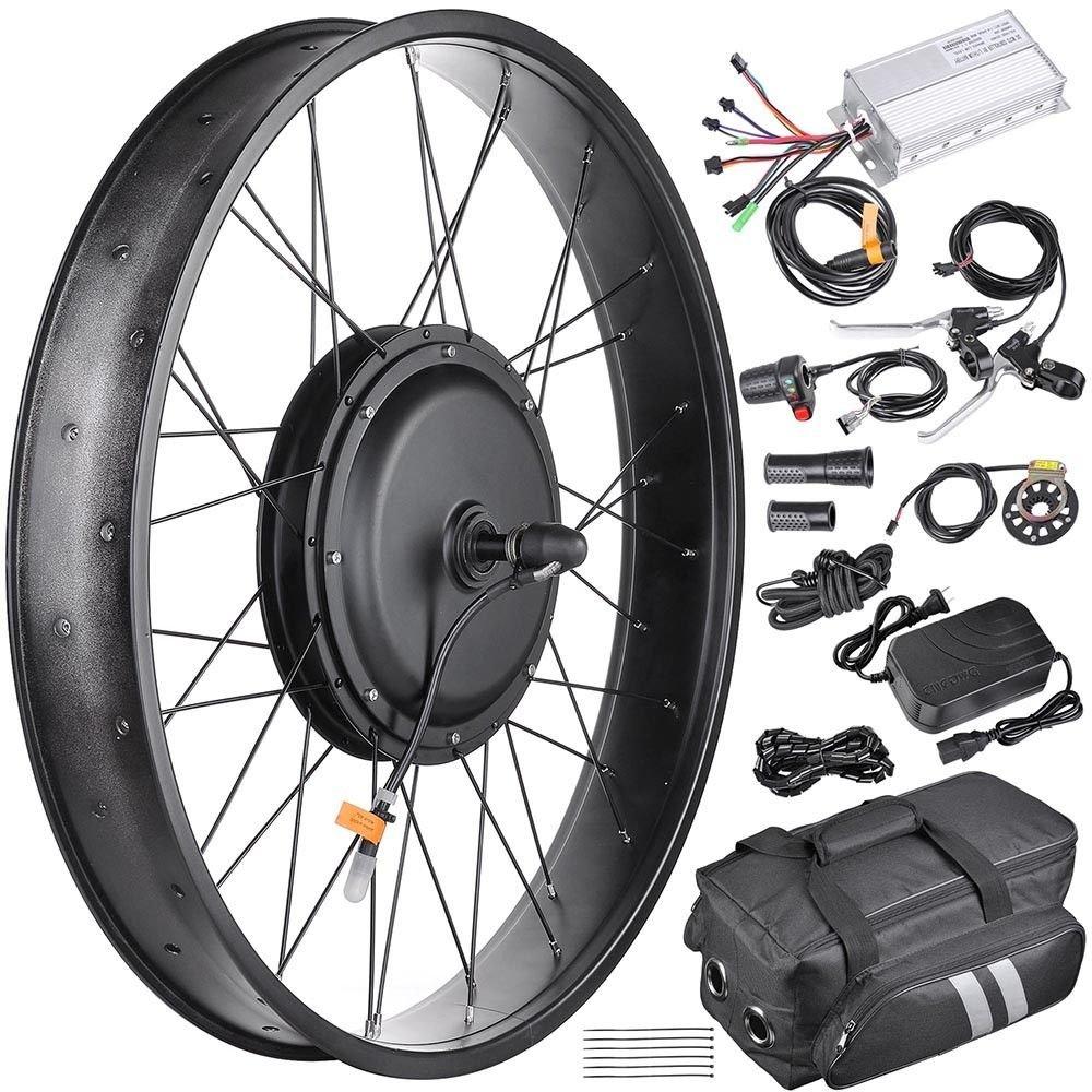 48 V 1000 WフロントFat Tire Electric Bike電動自転車変換キット26