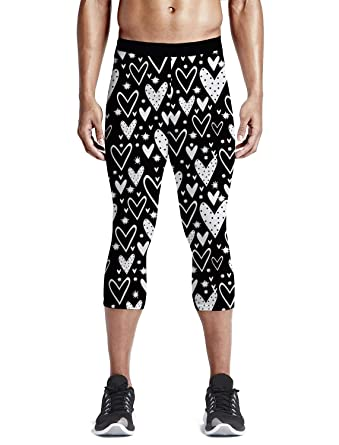 Amazon.com: Leggings de yoga ajustados para hombre, para el ...