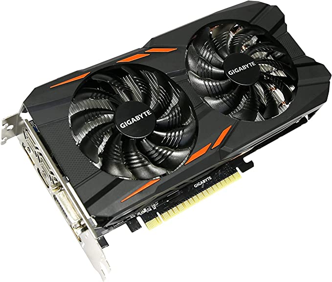 Gigabyte GTX 1050 Ti Windforce OC 4GB GDDR5 128-bit PCI-E Graphic Card (GV-N105TWF2OC-4GD)