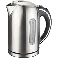 MegaChef Stainless Steel Light Up Wired Tea Kettle, 1.7L, Model 11