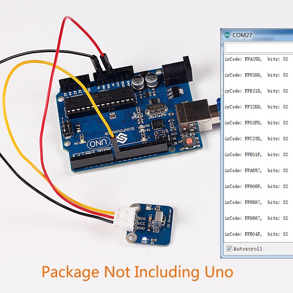 Sunfounder Infrared Sensitive Ir Receiver Sensor Module Amazonco Circuit Electronics
