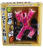 Stikbot, Translucent Pink Stikbot Figure, 3 Inches