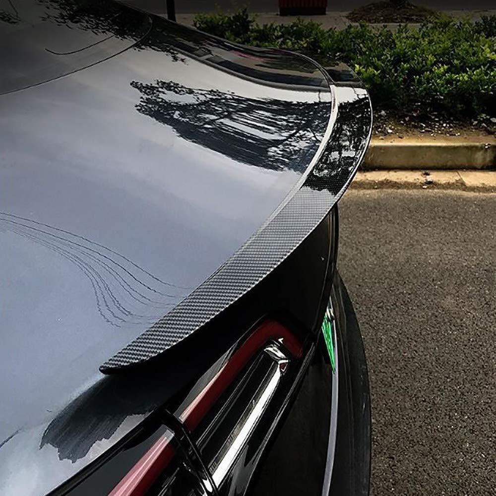 CHHMAELOVE Voiture Spoiler for Tesla Model 3,Bo/îte personnalis/ée arri/ère de Voiture Les ailerons,Installation Non Destructive Spoilers arri/ère de Voiture,carbonfiber