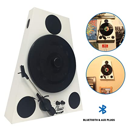 Amazon.com: Easygoproducts Vertical Bluetooth Turntable – 3 ...