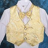Dressy Daisy Baby Boys Classic Tuxedo Suit 5 Pcs