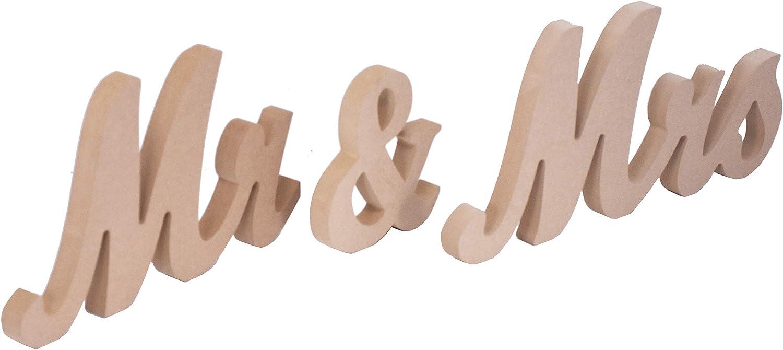 Amazon.com: Mandala Crafts - Cartel para decoración de bodas ...