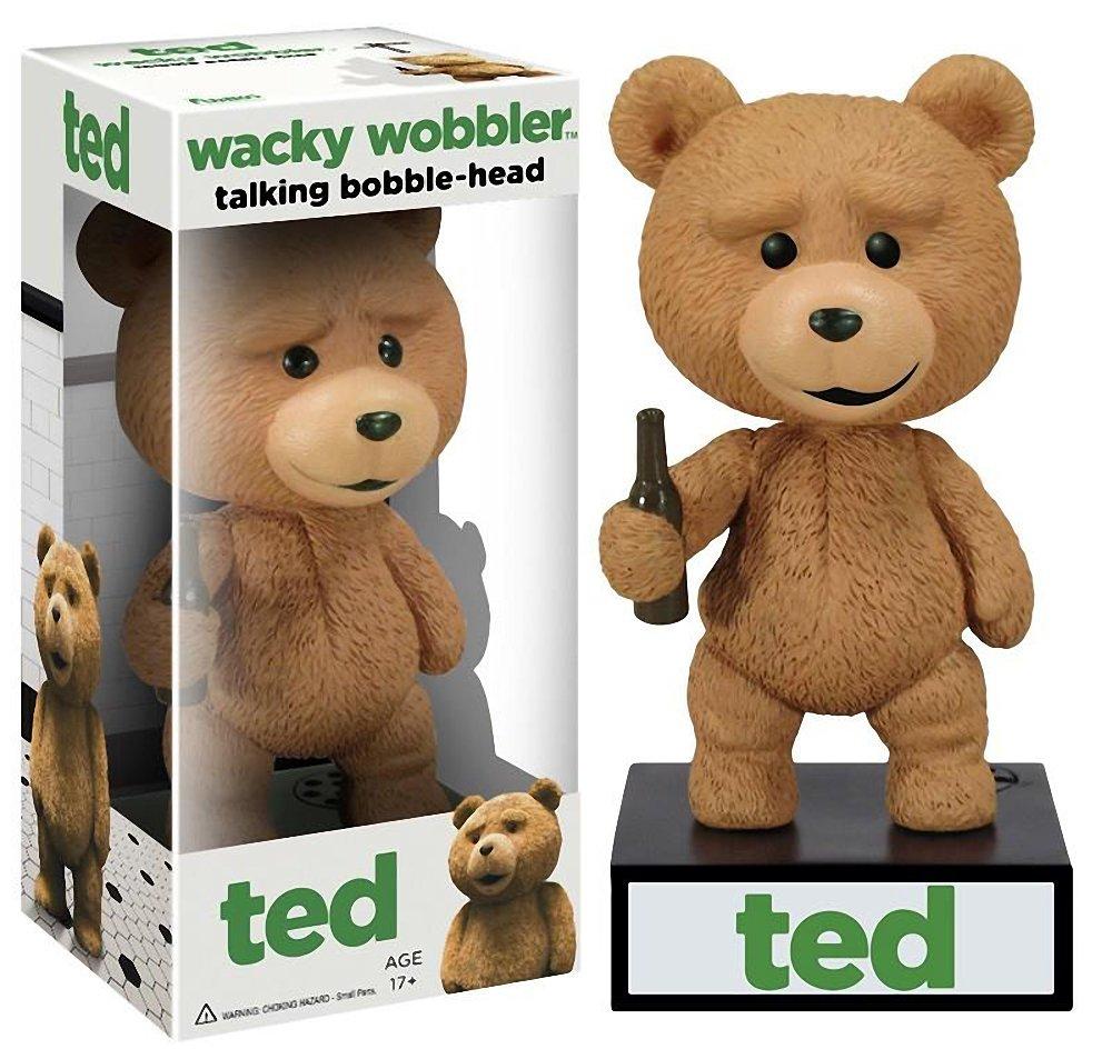 Ted Hablando Figura Cabeza Bobble: Serie wobblers extravagantes