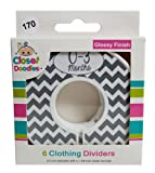 Amazon Price History for:Closet Doodles C170 Gray Chevron Gender Neutral Baby Closet Dividers Set of 6 Fits 1.25inch Rod