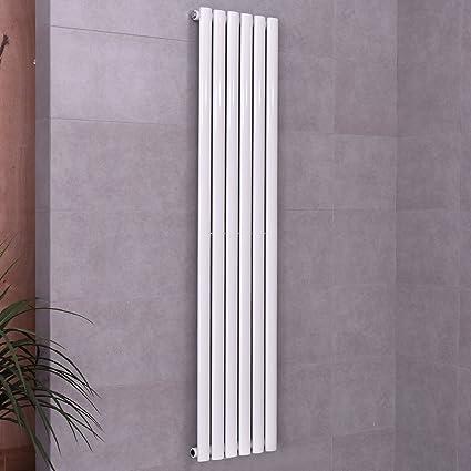 Costway Radiador de pared para el baño, radiador con paneles de diseño vertical, de