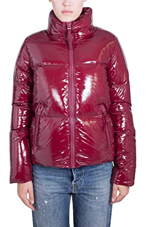 f91a74d6ea35 Tommy Hilfiger Ali Candy High Gloss Womens Down Jacket  Amazon.fr ...