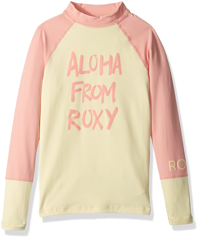 Roxy Big Sea Bound Girls Long Sleeve Rashguard, Roxy Children's Apparel ERGWR03041