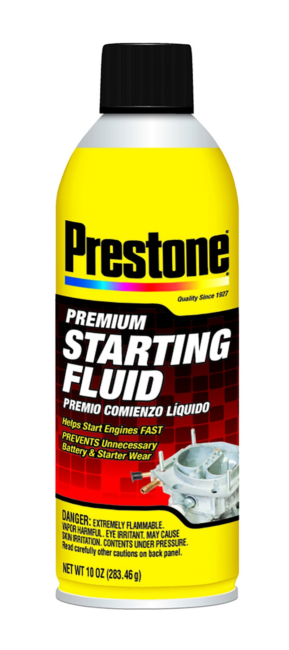 Prestone AS237-6PK Premium Starting Fluid - 10 oz., (Pack of 6) by Prestone