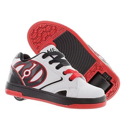 Heelys Propel 2 – Zapatillas de Color Blanco/Negro/Rojo