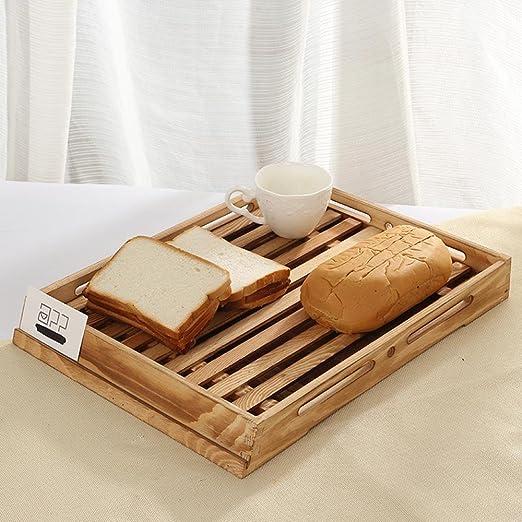 SQL kitchen Sql Panificadora compartimento Bandeja de madera Té ...