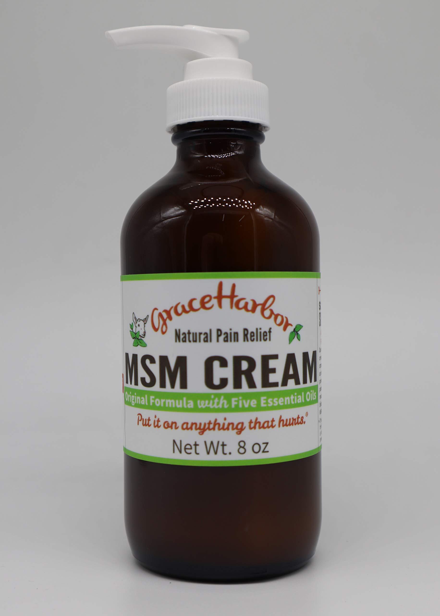 Grace Harbor Farms, Cream Msm, 8 Ounce