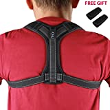 JCHL Back Posture Corrector for Women and Men with Underarm Pads Shoulder Upper Back Support Improve Bad Posture, relieve pain from Neck Back Shoulder
