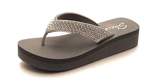 Skechers 31600 Beach League Mujer Silver con Yoga Foam ...
