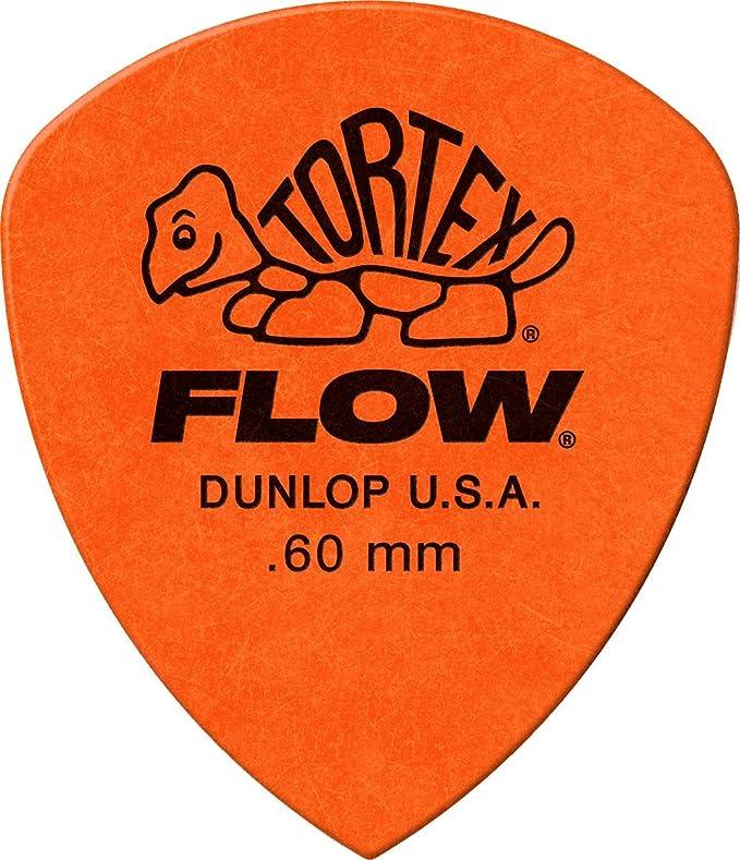 Jim Dunlop Tortex Flow Standard 1.14mm Guitar Picks 558R1.14
