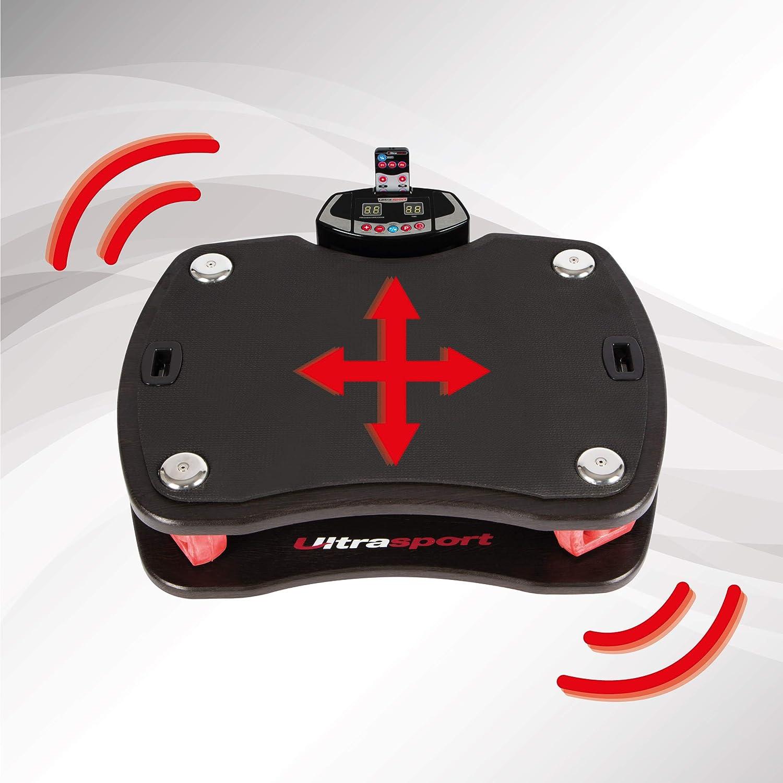 Pedana Vibrante Unisex-Adulto Ultrasport VP 400-3D Taglia Unica Bianco//Rosso