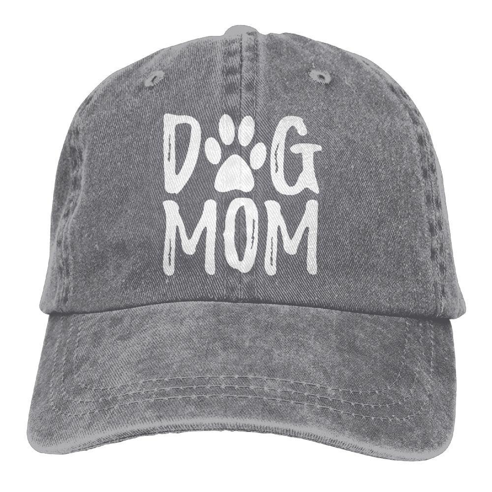 76f70c3a Unisex Dog Mom Vintage Jeans Adjustable Baseball Cap Cotton Denim Dad Hat  at Amazon Women's Clothing store