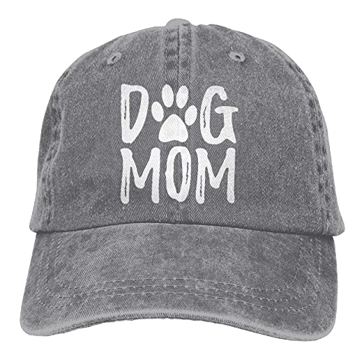 6034780ae Splash Brothers Customized Unisex Dog Mom Vintage Jeans Adjustable Baseball  Cap Cotton Denim Dad Hat