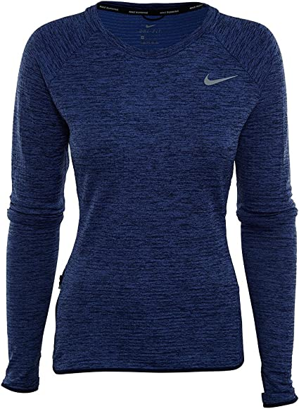 Frente al mar Misionero Equipar  Nike Therma Sphere Element Long Sleeve Running Top Womens Style : 812042:  Amazon.ca: Sports & Outdoors