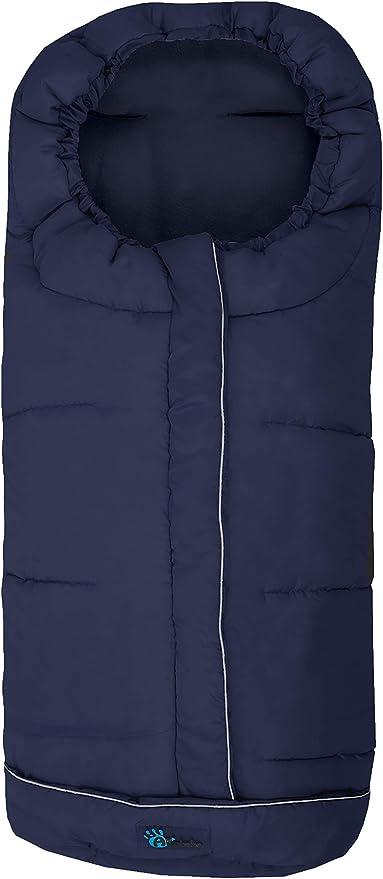 color azul marino Altabebe AL2203XL-11 Saco de invierno para silla de coche 0-12 meses