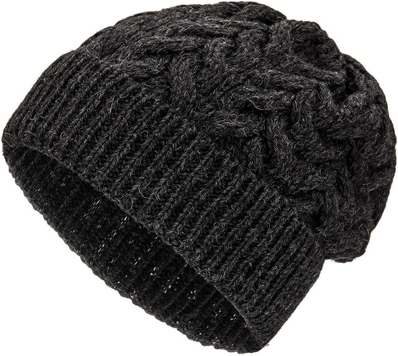 angemessener Preis Rabattgutschein Schuhwerk Weiche Damen Alpaka Mütze aus 100% Alpaka Wolle in 6 Farben - Hochwertige  Winter Strickmütze/Beanie Wollmütze von HansaFarm