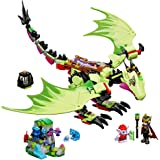 LEGO Elves The Goblin King's Evil DRAGON 41183 Building Kit (339 Pieces)