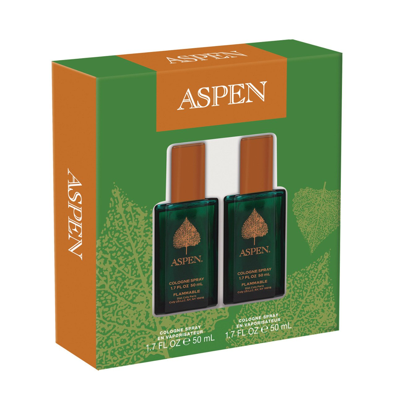 Classics Aspen 2 Piece Gift Set 1.7 Ounce Cologne Spray