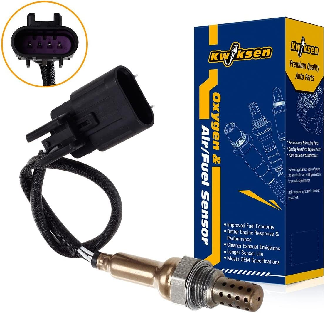 Kwiksen Heated O2 Oxygen Sensor 1 Bank 1 234-4855 Replacement for Hyundai Santa Fe 3.3L/Kia Sorento 3.8L 2007 2008 2009